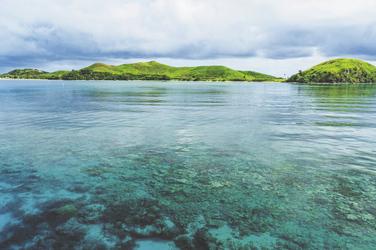 Korallenriff auf Fiji