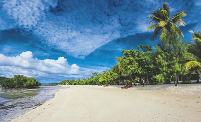 Strandabschnitt © THREE LOOSE COCONUTS