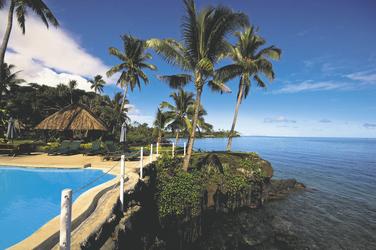 Pool im Paradise Taveuni