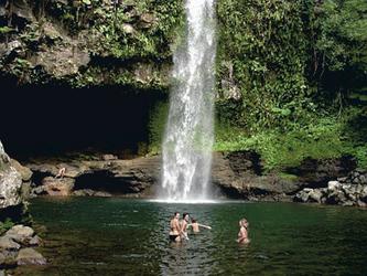 Bouma Wasserfall auf Taveuni