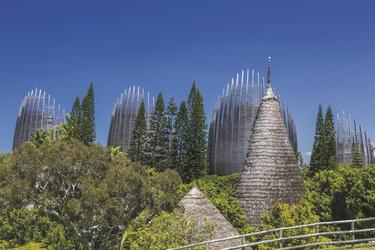 Tjibaou Kulturzentrum ©Terres de lumiere / NCTPS