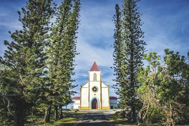 Kirche auf Ouvea ©DIL / NCTPS, ©DIL / NCTPS