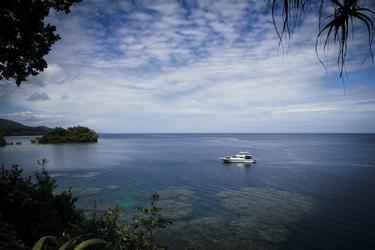 Ausblick vom Tawali Resort