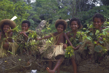 Kinder in Papua