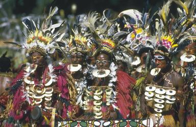 Beispiel für traditionelle Kleidung