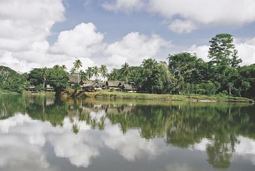 Sepik River Dorf