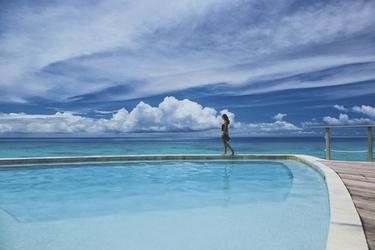 Pool im Maitai Rangiroa