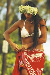 Tahitianerin, ©G. Le Bacon