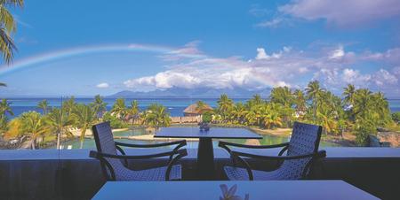 Blick von der Terrasse der neuen Lobby Bar