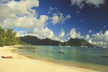 Strand des Maitai Huahine, ©Maitai LaPita