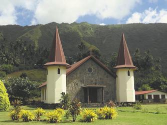 Kirche auf Nuku Hiva