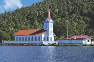 Kirche auf Tahaa