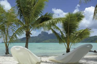 Motu in der Lagune von Bora Bora