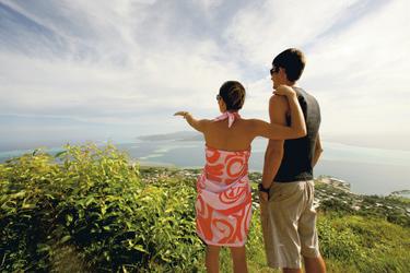 Aussicht von Raiatea