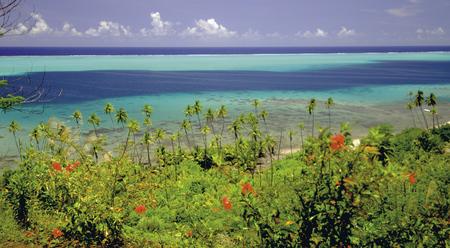 Lagune von Raiatea und Tahaa © P. Bacchet, ©PHILIPPE BACCHET
