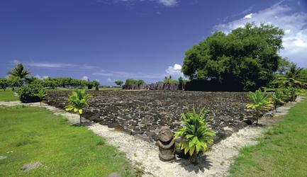 Marae auf Raiatea (c) P. Bacchet, ©PHILIPPE BACCHET