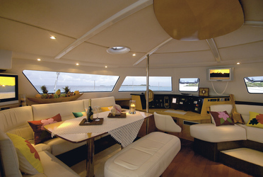Lounge Eleuthera (c) Archipel Cruises
