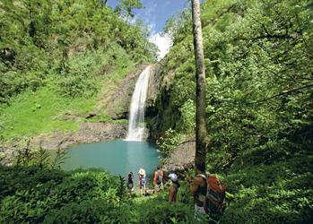 Wandern auf Tahiti