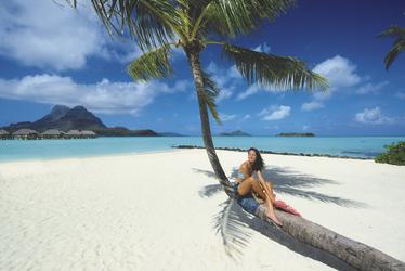 Strand des Pearl Resort
