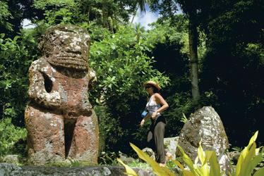 Tiki auf Hiva Oa