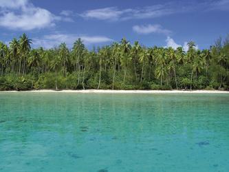 Lagune auf Moorea
