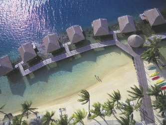 Overwater-Bungalows