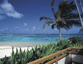 Blick vom Strandzimmer