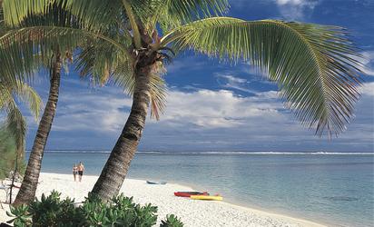 Strand von Titikaveka