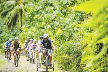 Radfahren auf Rarotonga