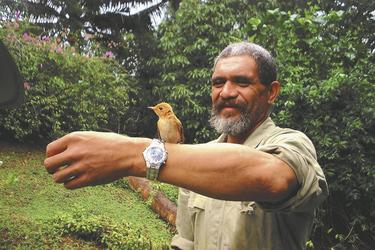 Birdman George auf Atiu