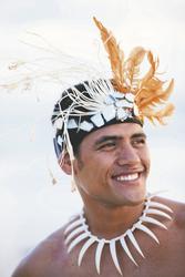Polynesischer Krieger © Kieran Scott, ©Kieran Scott