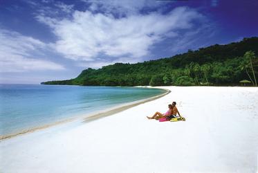 Strand auf den Cook Inseln