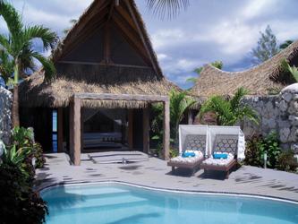 Villa Poolbereich