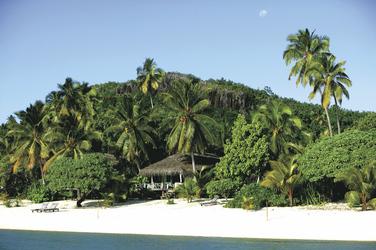 Strand des Pacific Resort Aitutaki (c) C. McLennan