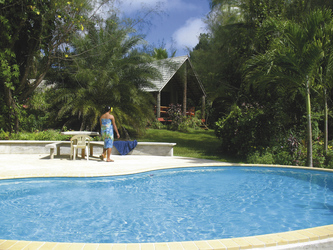 Pool und Gartenvilla