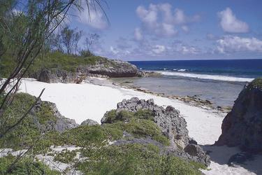 Strand auf Atiu