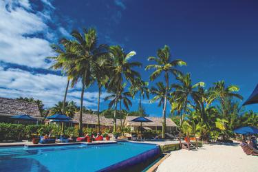 Strand und Pool