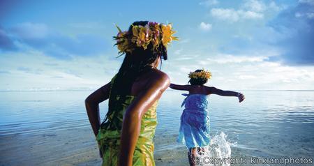 Mädchen in der Südsee © Kirkland