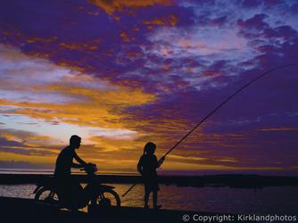 Sonnenuntergang Cook Inseln