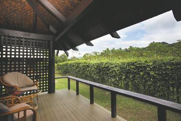 Terrasse Ihres Bungalows