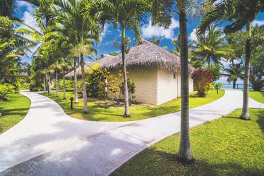 Villa Royale Takitumu © M. Williams-Ellis, ©Matthew Williams-Ellis
