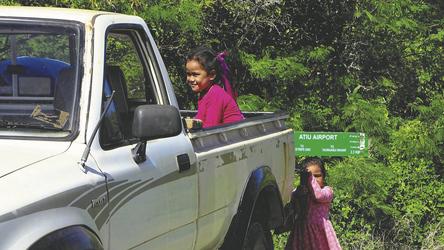 Kinder auf Atiu