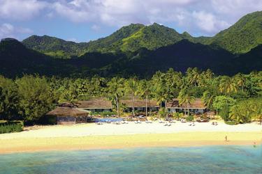 Luftbild Manuia Beach