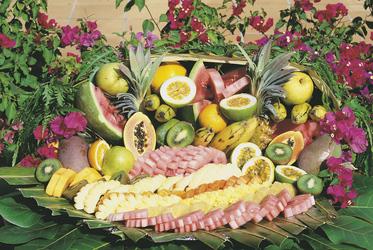 Tropische Früchte