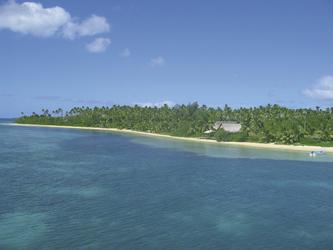 Strand des Fafa Island Resorts