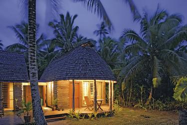 Abendstimmung auf Fafa Island