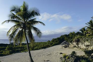 Küstenabschnitt am Resort