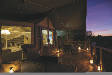 Abendstimmung in der Serengeti, ©Sanctuary Retreats
