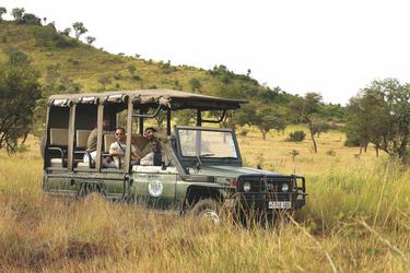 © Tanganyika Expeditions; Pirschfahrt