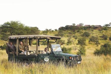 Safari-Fahrzeug mit Elektroantrieb